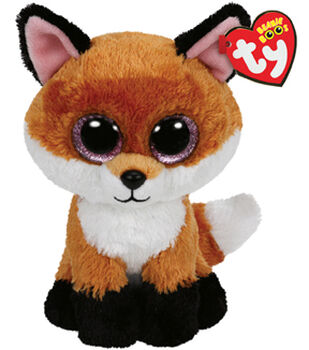 TY Beanie Boo Slick Brown Fox