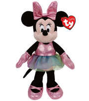 Ty Disney Minnie Mouse Ballerina Sparkle Medium , , hi-res