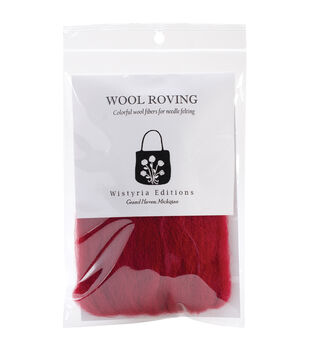 Wistyria Editions Wool Roving