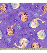 Disney Frozen Sisters Frame Fleece Fabric, , hi-res