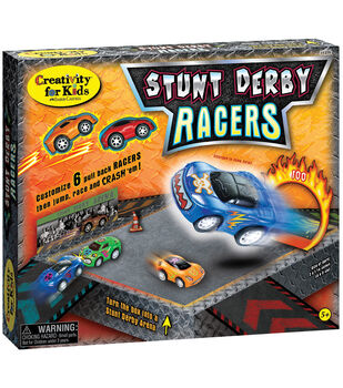 Creativity For Kids Stunt Derby Racers Kit