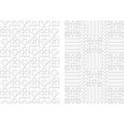 Spellbinders M-Bossabilities A4 Card Embossing Folder Quiltworks, , hi-res