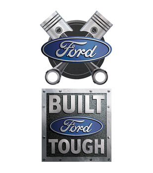 Ford Built Car Magnet
