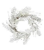 Blooming Holiday 25'' Snowflake Grapevine Wreath, , hi-res