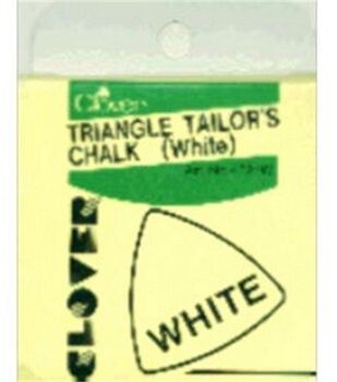 Clover Triangle Tailors Chalk-White
