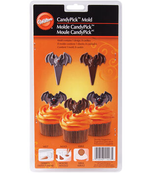 Wilton® Candy Mold-8 Cavity Bat