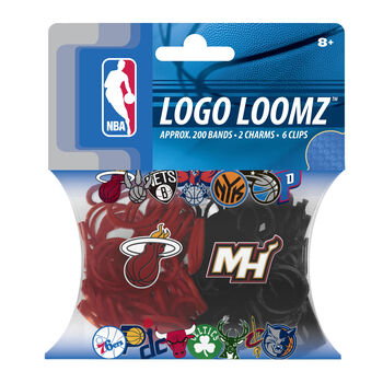 Forever Collectibles Logo Loomz Filler Pack Miami Heat