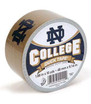 Duck Tape College Logo Notre Dame