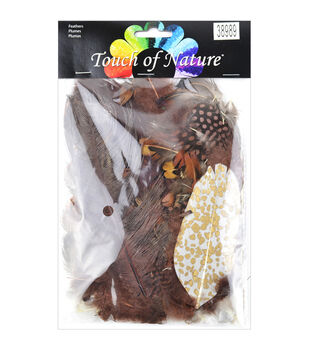 Midwest Design Touch Of Nature Mix Package Feathers