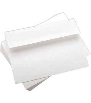 "A7 5-1/4""x7-1/4"" Envelopes-100PK/White"