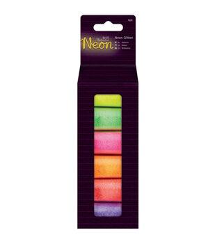 Papermania 6ct Glitter-Neon