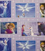 Disney Frozen Movie Patch Sweatshirt Fleece Fabric, , hi-res