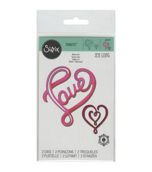 Sizzix Thinlits Love With Hearts Dies