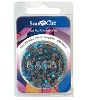 Brother Rhinestone Refill Pack 10SS (2.8 mm - 2.9 mm) – Turquoise, , hi-res