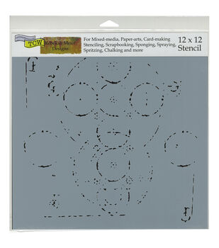 "Crafter's Workshop Template 12""X12""-Coptic Impressions"