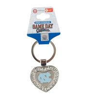 University of North Carolina NCAA Heart Keychain, , hi-res