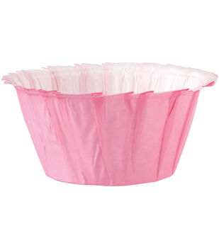 Wilton® Standard Ruffle Baking Cup 24/Pkg-Pink