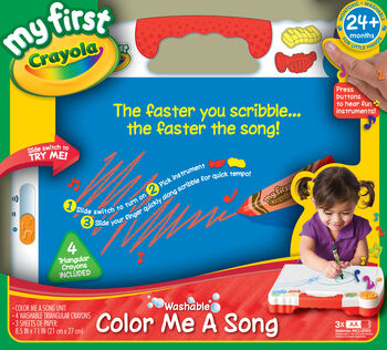 Crayola Mfc Color Me A Song