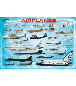 Euro Graphics Jigsaw Puzzle History Of Aviation