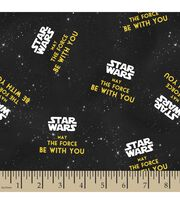 Star Wars™ Print Fabric-May The Force Be With You, , hi-res