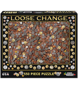 "Jigsaw Puzzle 550 Pieces 18""X24""-Loose Change"