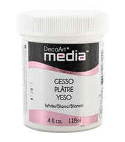 DecoArt Media Gesso 4oz-White , , hi-res