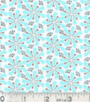 Keepsake Calico Fabric - Floral Jack Blue, , hi-res