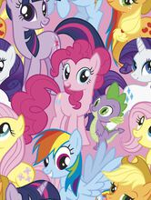 Hasbro My Little Pony Fleece Fabric, , hi-res