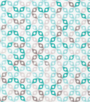 Cloud 9 Premium Cotton Fabric-Dolittles Geo Green, , hi-res