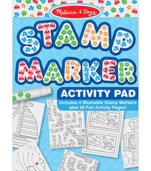 Melissa & Doug Stamp Marker Activity Pad-Blue
