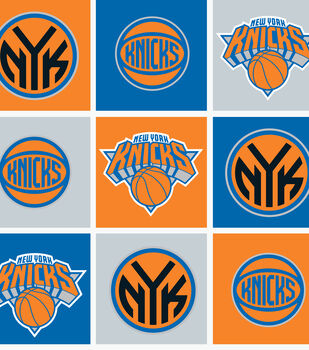 New York Knicks NBA  Fleece Fabric