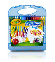 Crayola® Washable Super Tips Markers Kit, , hi-res