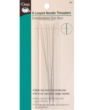 Dritz® Looped Needle Threader-6/Pkg