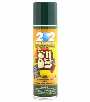 Temporary Pattern Spray And Fix Adhesive