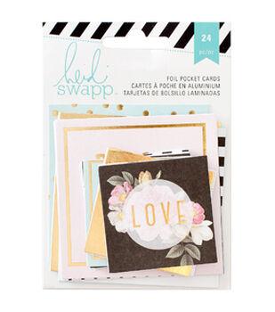 Heidi Swapp Memory Planner Pocket Cards 24/Pkg
