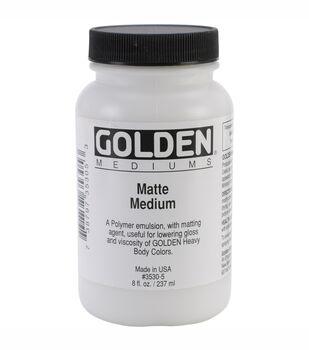 Golden Matte Medium-8oz