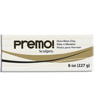 Premo Clay 8oz/Pkg-Black