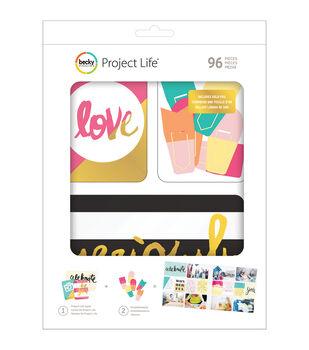 Project Life Value Kit 96/Pkg-Mix & Match