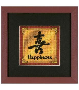 Dimensions Mini Needlepoint Kit Jiffy Happiness