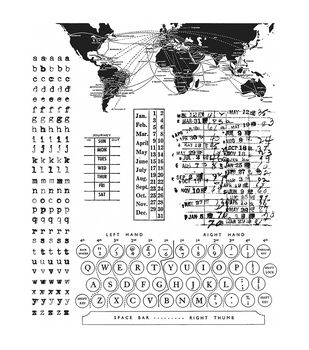Stampers Anonymous Documented Cling Rubber Stamp Set
