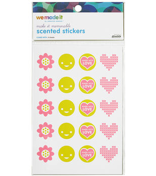 We Made It By Jennifer Garner™ Scented Stickers Flower