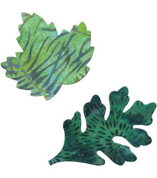 GO! Fabric Cutting Dies-Rustling Leaves #4 Maple & Oak Small