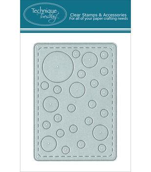 Technique Tuesday Simply Circles Card DIY Die
