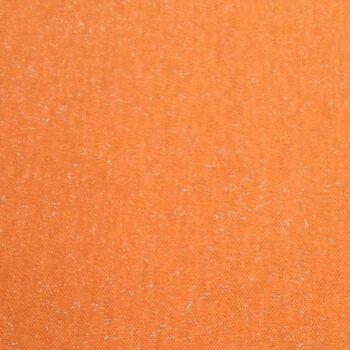 Doodles Collection- Glitter Knit Orange