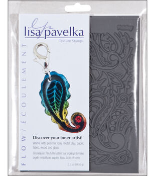 Lisa Pavelka Stamp Sheets-2PK/Flow