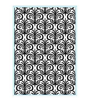 Elizabeth Craft Designs Fleur De Lis Embossing Folder