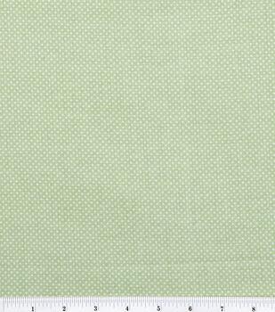 Keepsake Calico™ Cotton Fabric-Pin Dots On Sage