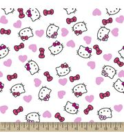 Sanrio Hello Kitty Print Fabric-Headshot, , hi-res