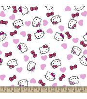 Sanrio Hello Kitty Print Fabric-Headshot, , hi-res