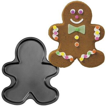 Wilton® Giant Non-Stick Cookie Pan Gingerbread Boy